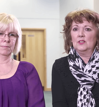 Pam and Julie chat about volunteering for over 20 years